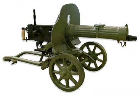 Массогабаритный макет пулемета «Максим»