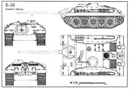 "Германские танки серии ""Е"""