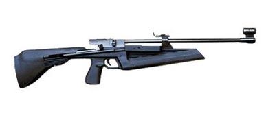 Пружинно-поршневая пневматическая винтовка Иж-61