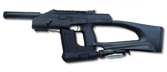 Автоматический пистолет MP-661K «ДРОЗД» с бункерным заряжанием