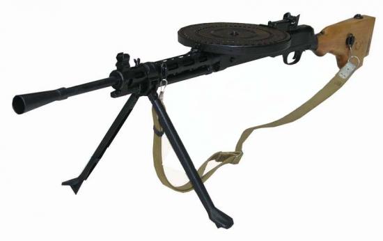 Ручной пулемет ДП образца 1927 года