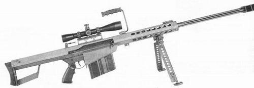Крупнокалиберная снайперская винтовка M82А1