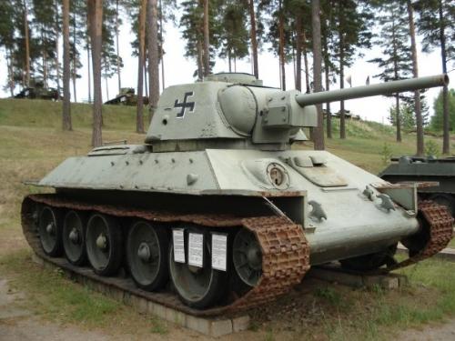 Танковый музей в Пароле (Финляндия) - эхо Зимней войны