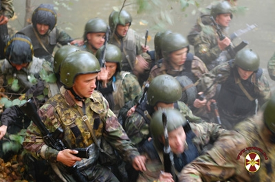 Спецназ России: краповые береты!