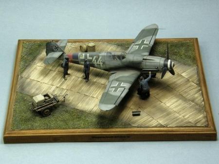 Полный улёт или Messerschmitt Bf109G-10.