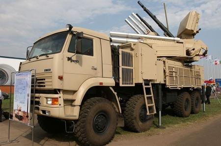 """""""Панцирь-С1"""" (SA-20), зенитный ракетно-пушечный комплекс"""