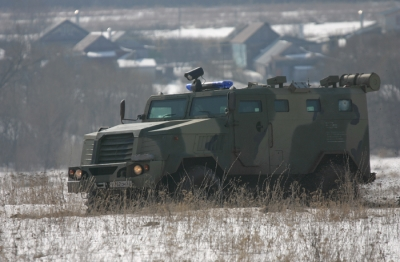 СПМ-3 «Медведь» (ВПК-3924) - специальная полицейская машина