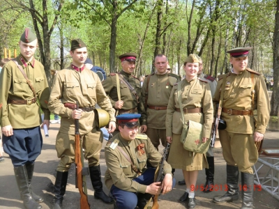 9 мая 2013! Как праздновали День Победы в Москве! Фотоотчет!