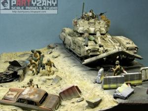 Дио, танк EFGF M61A5 (фантастика 1/35)