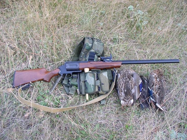 Револьверное ружьё МЦ-255