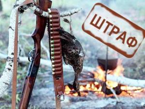 Кохотеприравнивается нахождение физических лиц в охотничьих угодьях с орудиямиохотыи (или) продукциейохоты